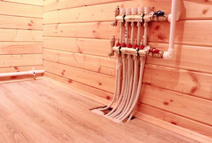 Водяной теплый пол в загородном доме: технология, преимущества и этапы изготовления