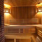 Готовый полок в бане
