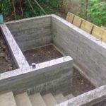 Лестница в погребе