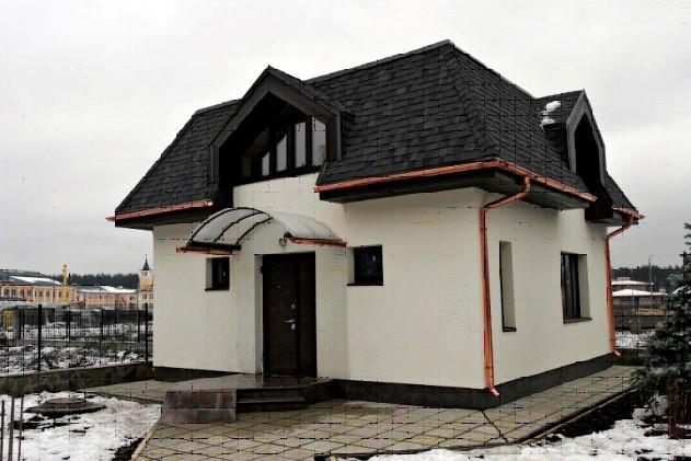 Ломаная или монсардная конструкция крыши