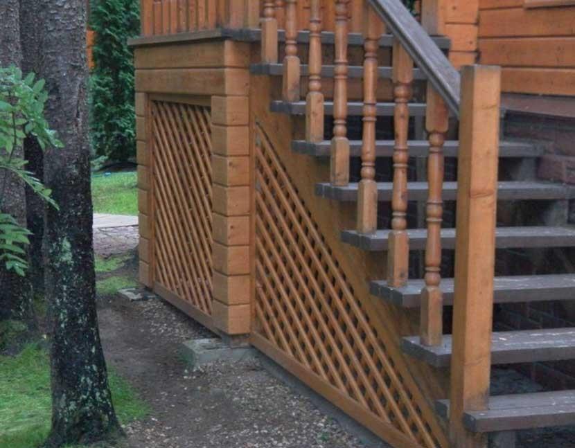 Крыльцо из дерева