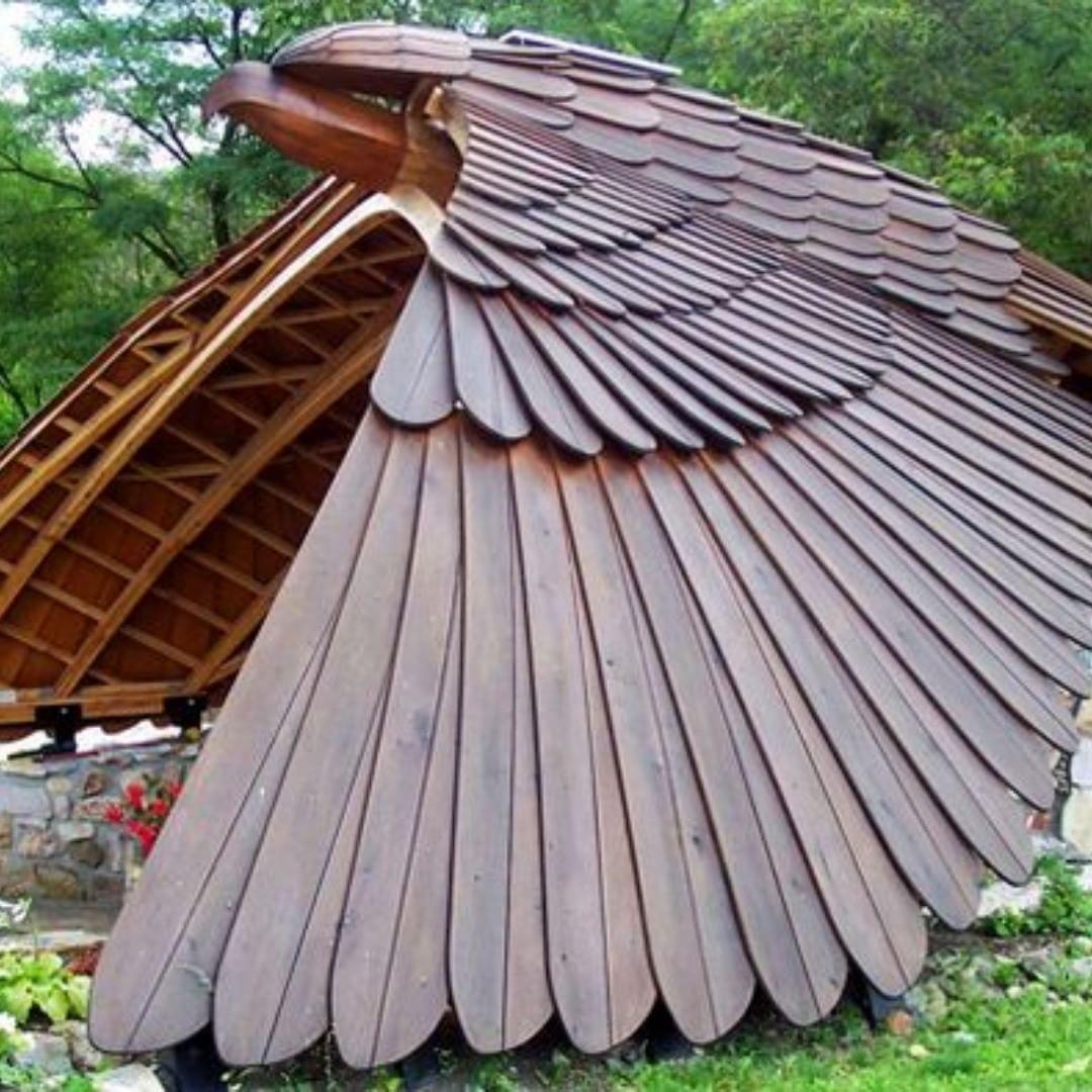 Крыша беседки