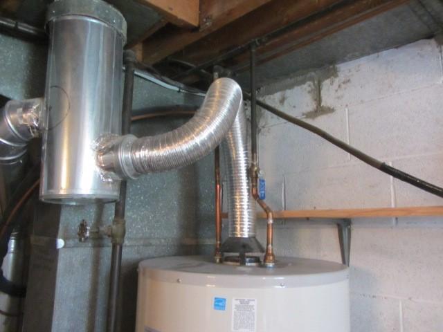 Вентиляция водонагревателя