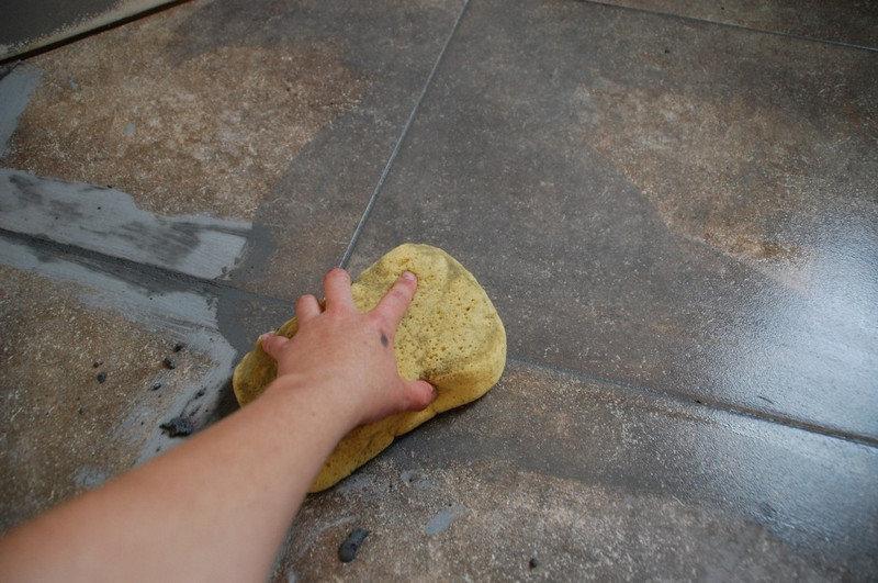 Цементная затирка швов плитки