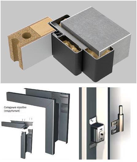Металлические дверные коробки
