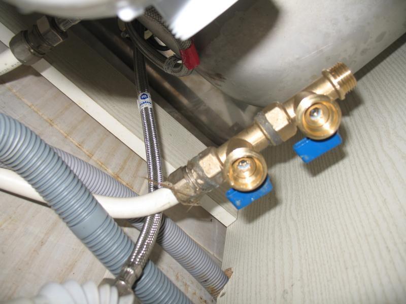 Подключение посудомоечной машинки к водопроводу