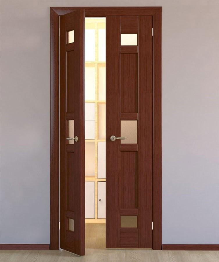 Распашная дверь в ванную