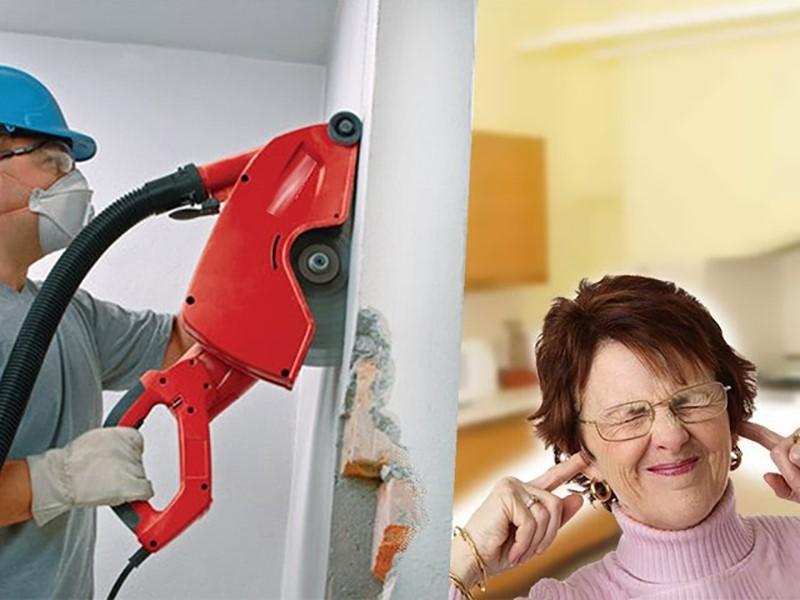 Шумные ремонтные работы
