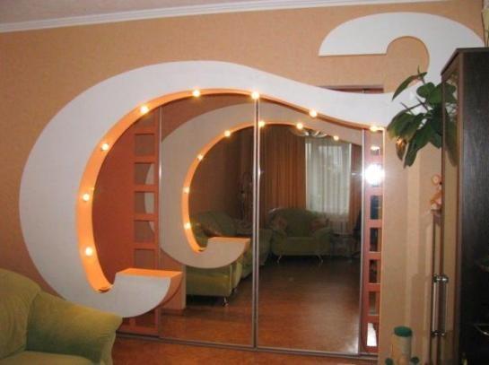 Сложная конструкция арки
