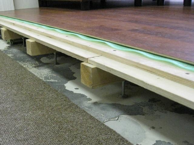 Что делать, если скрипит деревянный пол? Устраняем, не разбирая