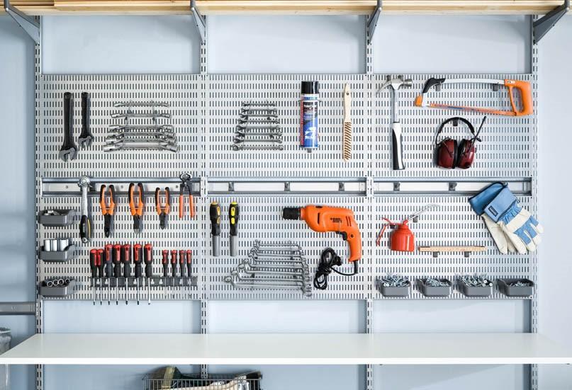 Держатель для инструментов на стене