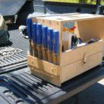 Ящик с панелями для инструментов