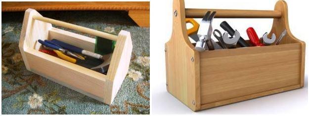 Простые ящики для инструментов своими руками
