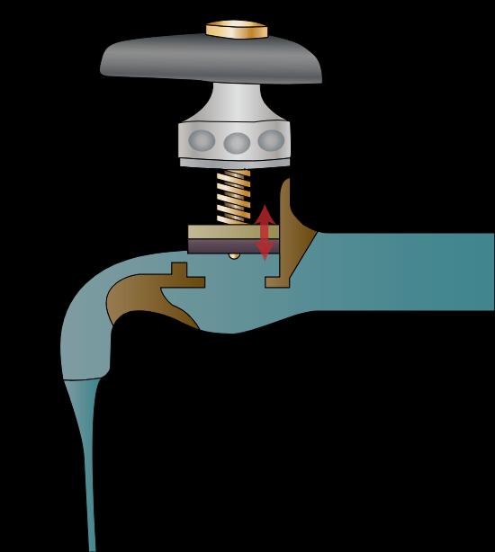Регулировка вентильного смесителя