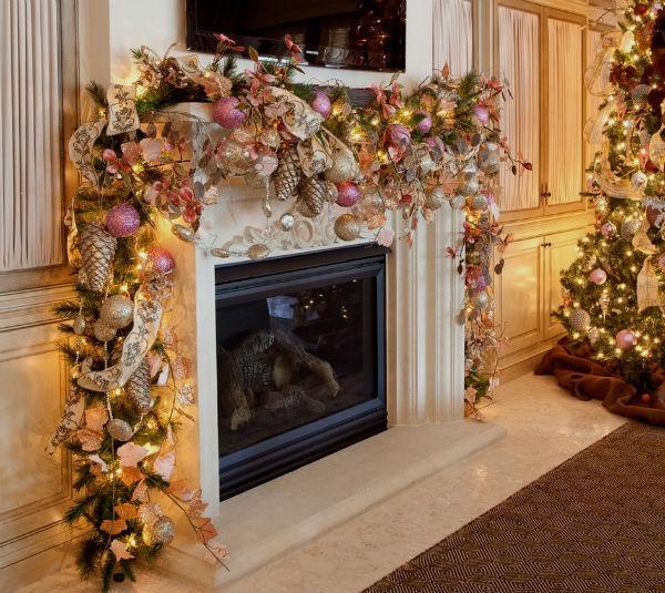 Как украсить дом к новому году 2019: новогодние украшения своими руками