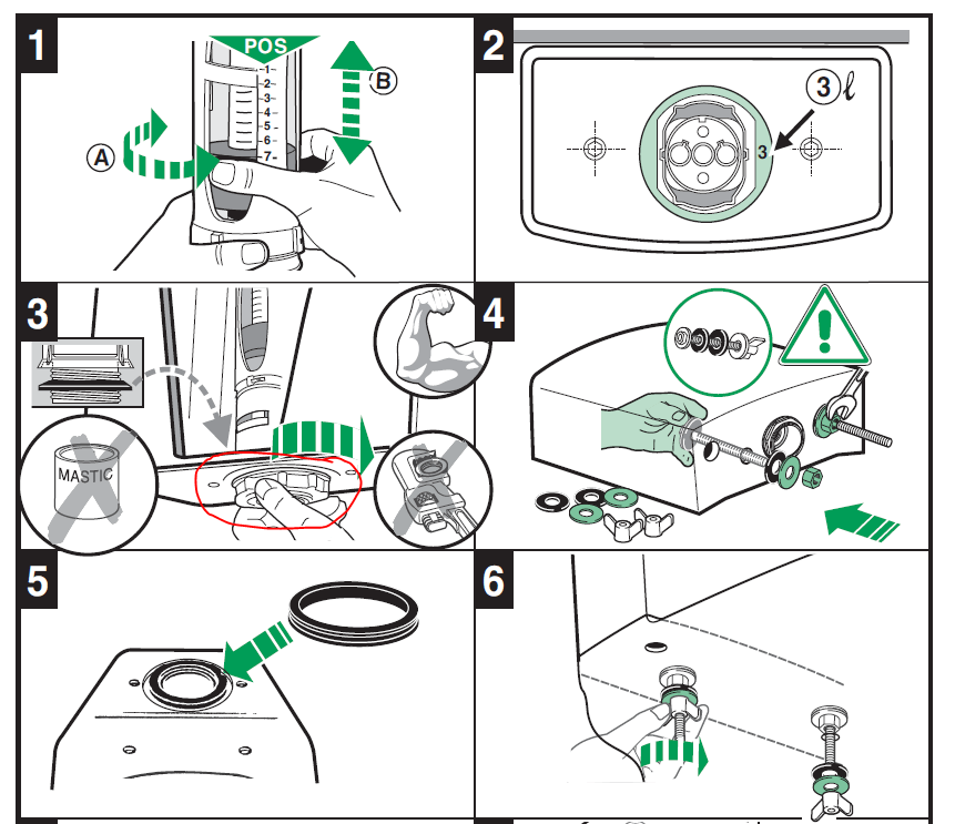 Инструкция сборки бачка унитаза