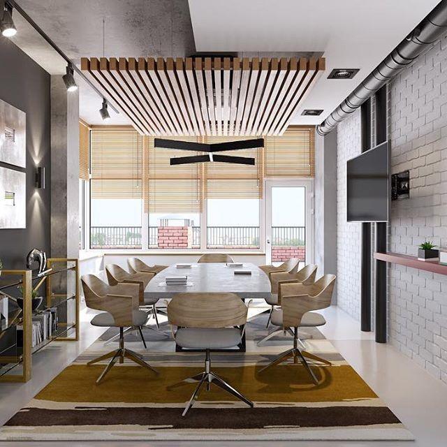 Реечная конструкция на потолке