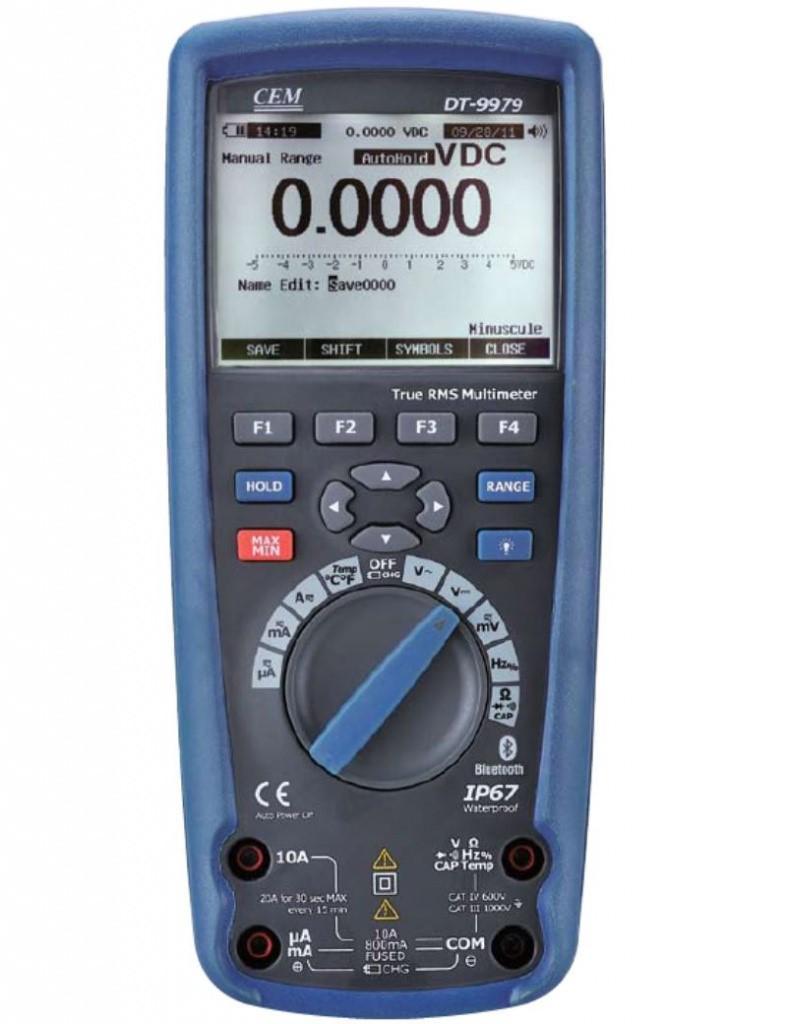 Мультиметро водонепроницаемый (IP67) DT-9979
