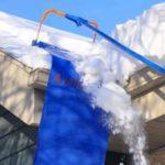 Рамка для подрезки снега с крыши