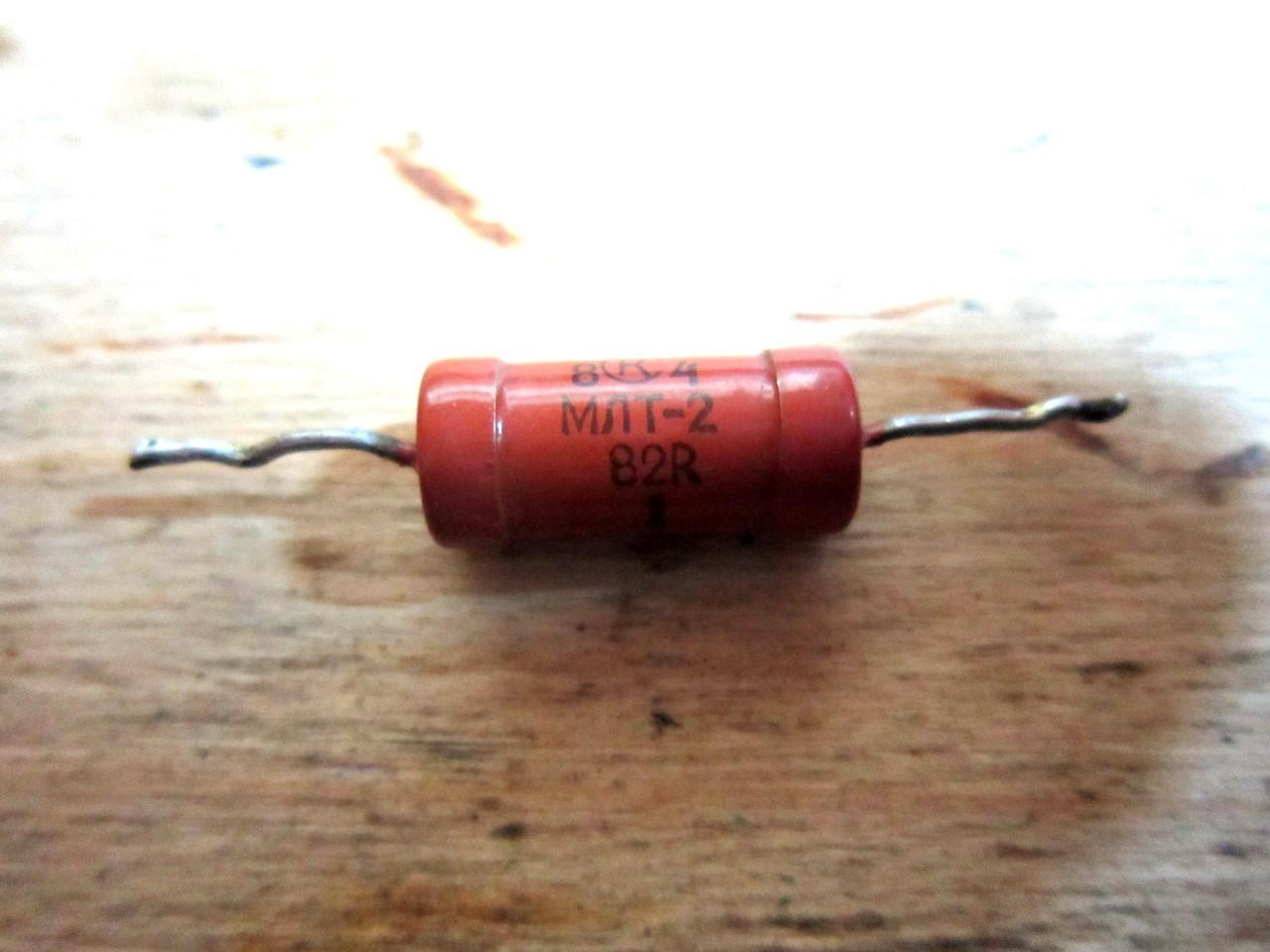 Сопротивление на резисторе