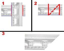 Определение углов плинтуса с помощью зеркала