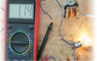 схема для замера тока трансформатора