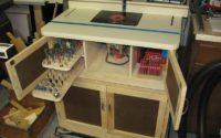 Ящики в фрезерном столе