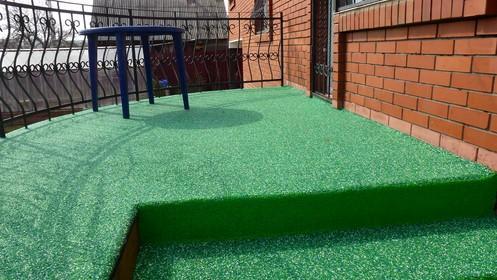 Бесшовные резиновые покрытия для бетона