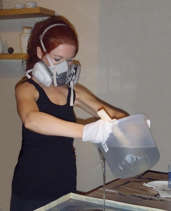 Индивидуальная защита при работе с краской