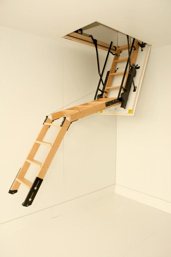 Лестница на чердак своими руками - пошаговая инструкция
