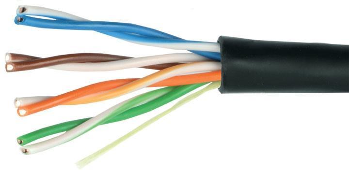Обрезанный интернет кабель