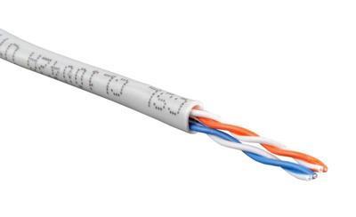 Пример LAN-кабеля для низкоскоростных соединений