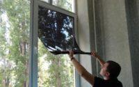 Тонирование окна в квартире своими руками