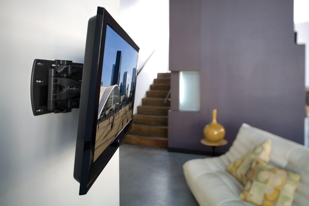 Большое расстояние от стены до телевизора