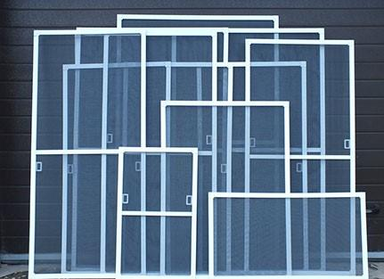 Рамочные сьъемные москитные сетки на окна