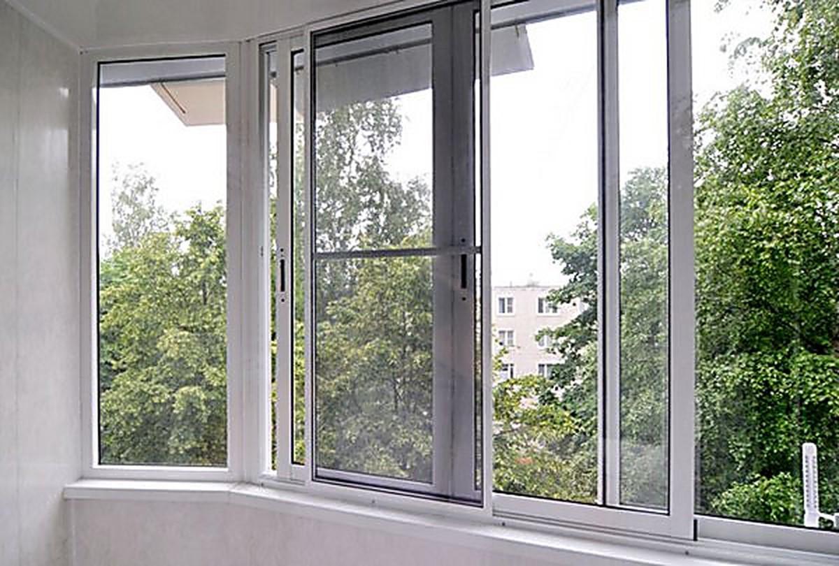 Раздвижная москитная сетка на окна