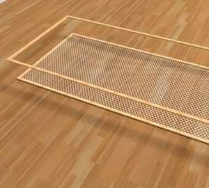 Использование двойной рамки для москитной сетки
