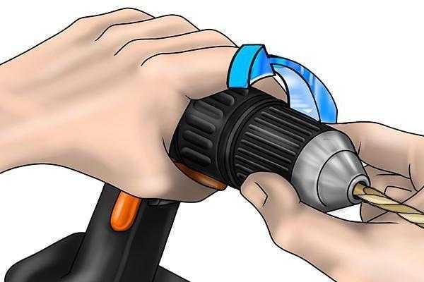 Как снять быстрозажимной патрон