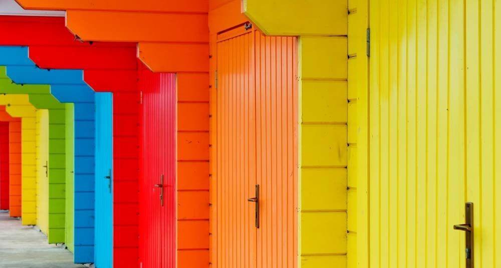 Яркие алкидные краски