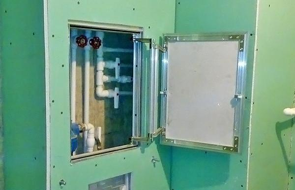 Смотровой люк в коробе