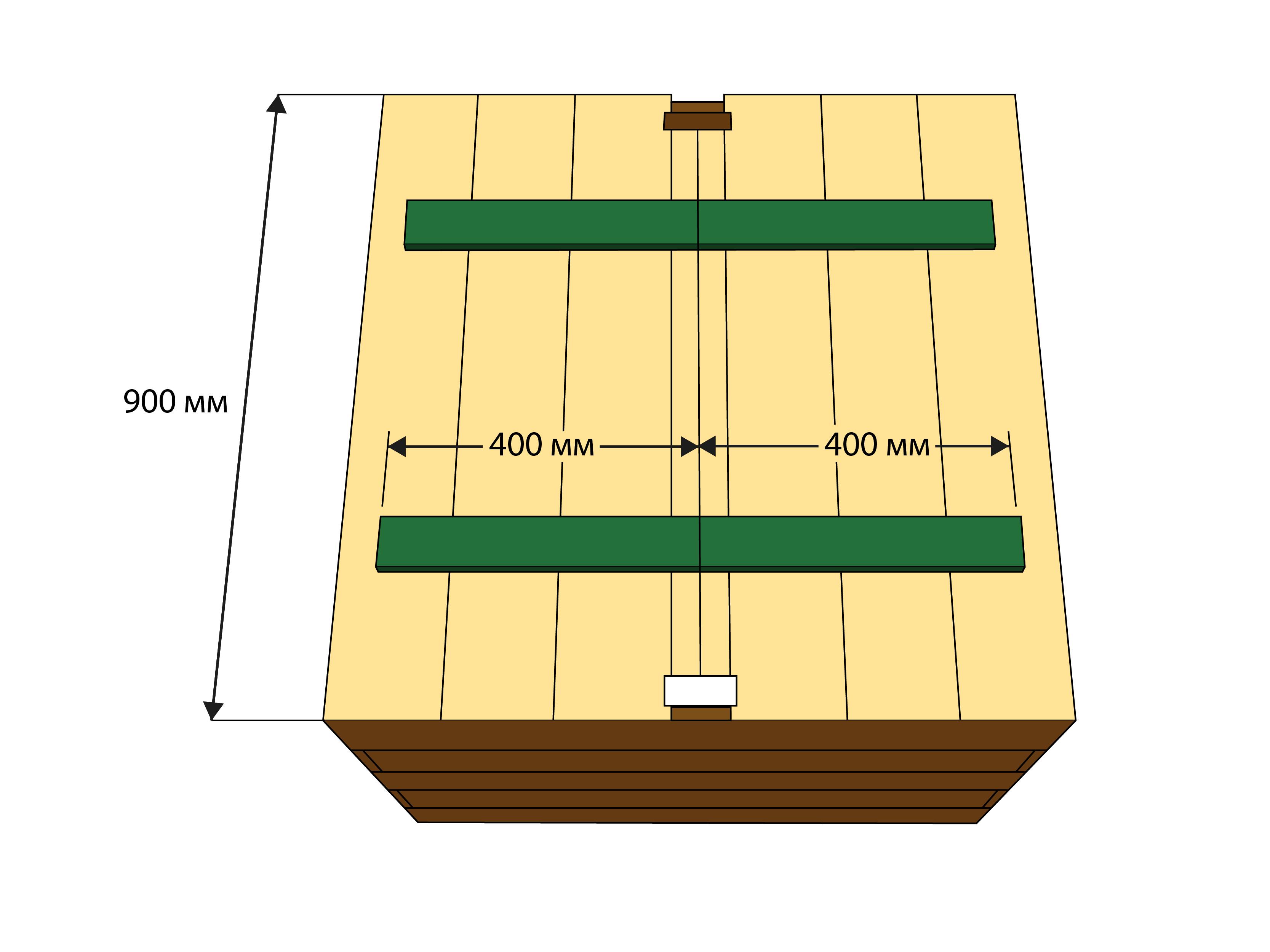 Крышка колодца