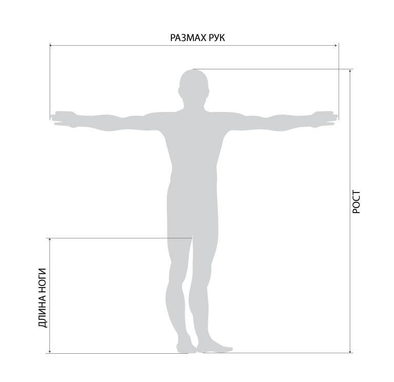 Размах рук человека связано с длиной листа металлочерепицы