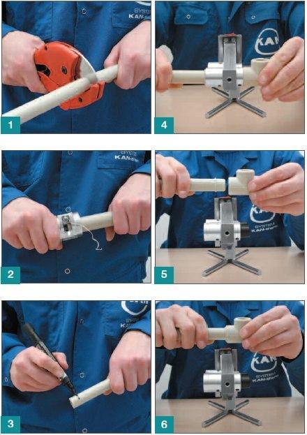 Как выполняется сварка и подготовка полипропиленовых труб