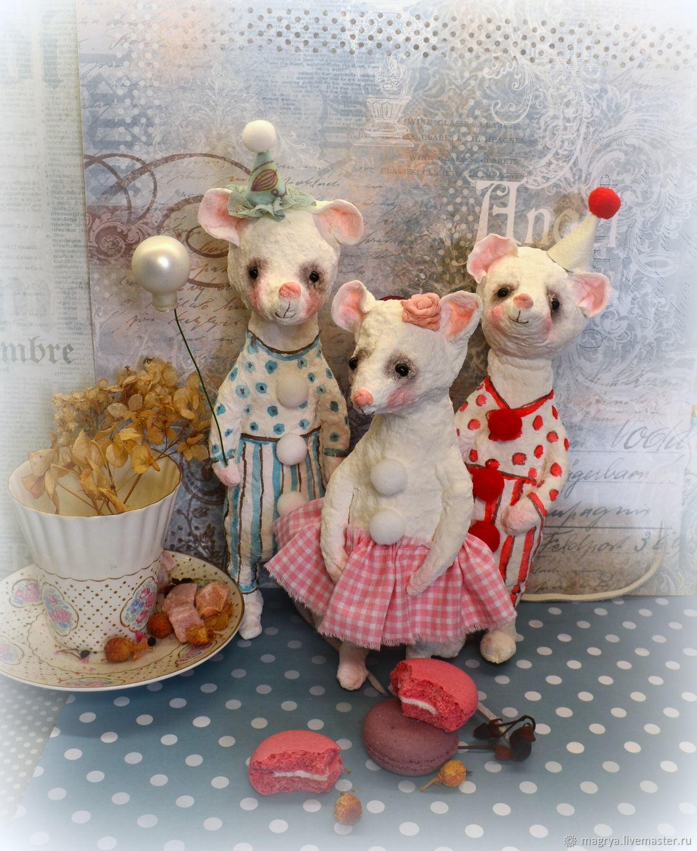 Мышки своими руками елочные игрушки