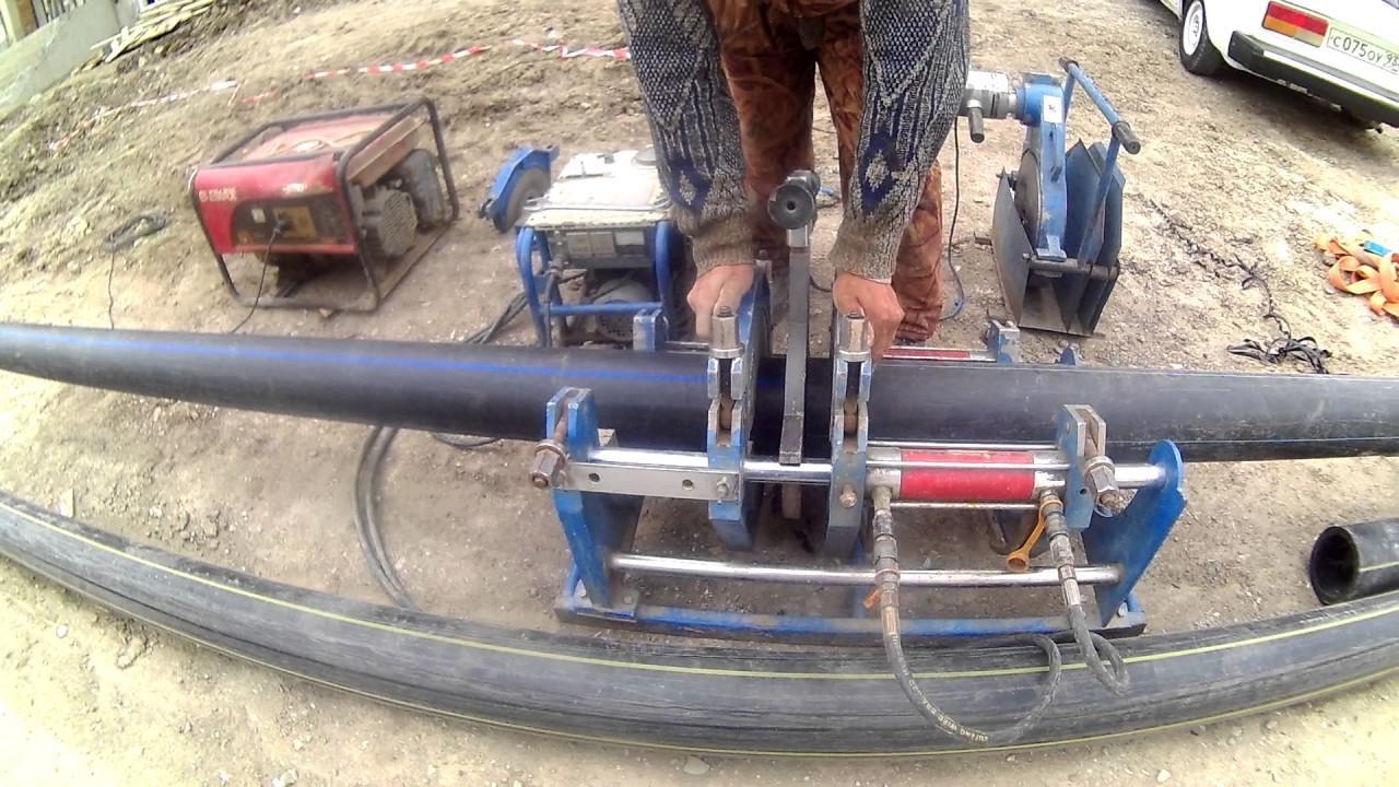 Напольные аппараты для сварки труб