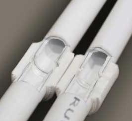 Сваренные трубы в разрезе