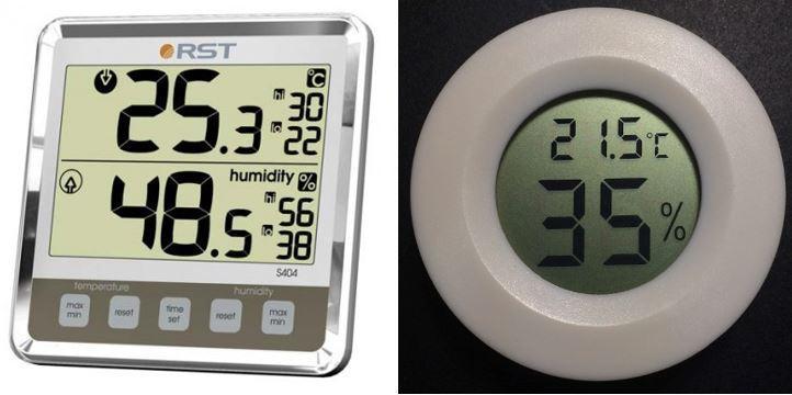 Цифровые приборы для измерения влажности