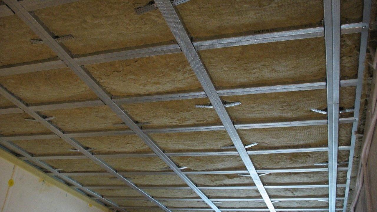 Минвата под натяжной потолок