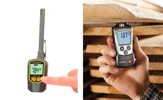 Прибор для измерения влажности в материалах