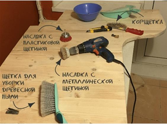Инструменты для брашировки